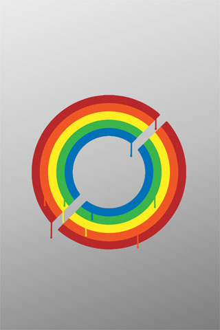 Double Rainbow iPod Touch Wallpaper