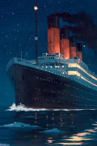 Titanic iPod Touch Wallpaper