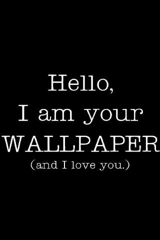 Hello Wallpaper iPod Touch Wallpaper