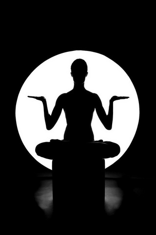Yoga iPod Touch Wallpaper