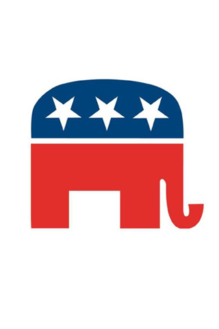 Republican Logo iPod Touch Wallpaper