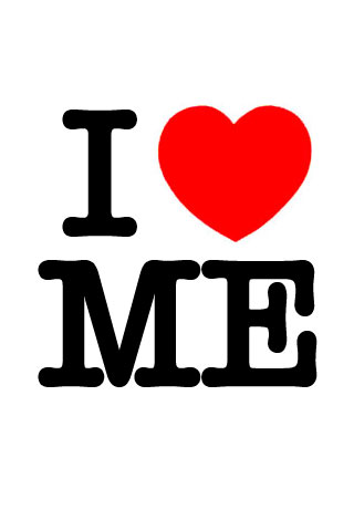 I Love Me iPod Touch Wallpaper