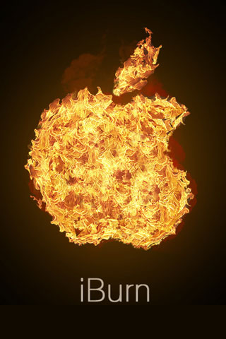 iBurn iPod Touch Wallpaper