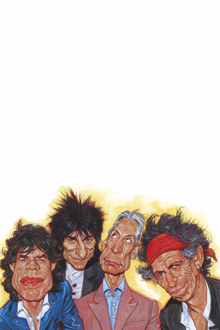 Rolling Stones iPod Touch Wallpaper