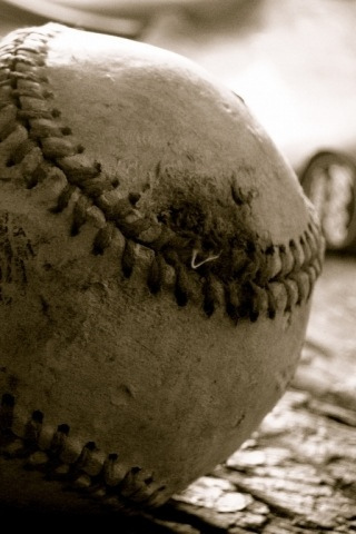 Baseball iPod Touch Wallpaper