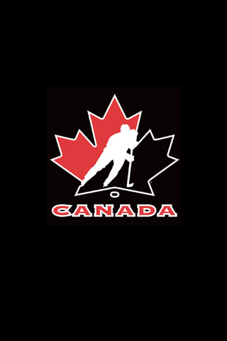 Canada Hockey iPod Touch Wallpaper