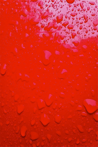 Red Splash iPod Touch Wallpaper