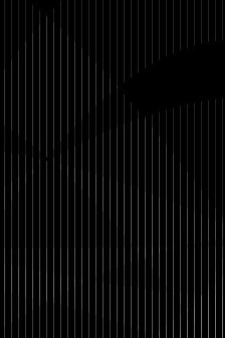 Black Stripe iPod Touch Wallpaper