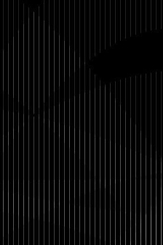 Black Stripe iPod Touch Wallpaper