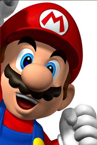 Mario iPod Touch Wallpaper