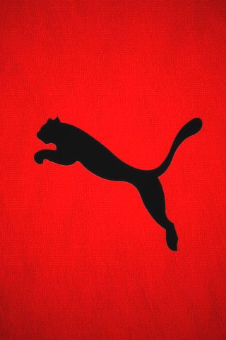 Puma Logo iPod Touch Wallpaper