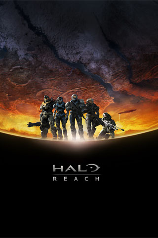 Halo Reach iPod Touch Wallpaper