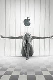Apple Girl iPod Touch Wallpaper