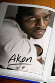 Akon iPod Touch Wallpaper