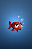 Sad Fish iPod Touch Wallpaper