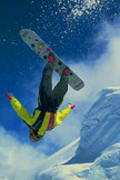 Snowboarder iPod Touch Wallpaper