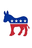 Democrats Logo iPod Touch Wallpaper