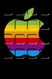 Apple Home Screen iPod Touch Wallpaper