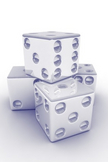 3D Dice iPod Touch Wallpaper