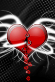 Heart iPod Touch Wallpaper