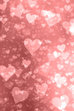 Hearts Bokeh iPod Touch Wallpaper