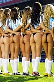 Soccer Babes iPod Touch Wallpaper