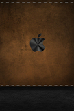 Apple Old Leather iPod Touch Wallpaper