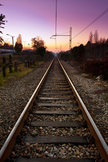 Train Track iPod Touch Wallpaper