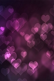 Heart Bokeh iPod Touch Wallpaper