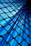 Blue Tarp iPod Touch Wallpaper