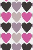 Heart Pattern iPod Touch Wallpaper
