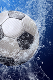 Soccer Ball iPod Touch Wallpaper