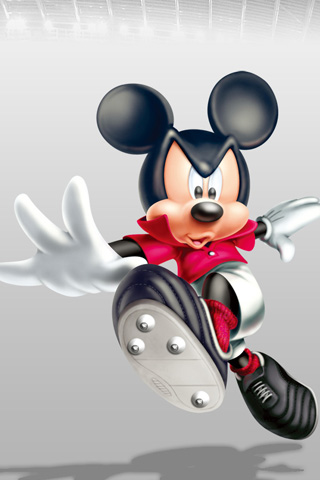 Mickey Mouse iPod Touch Wallpaper
