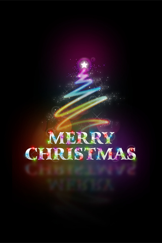 Merry Christmas iPod Touch Wallpaper