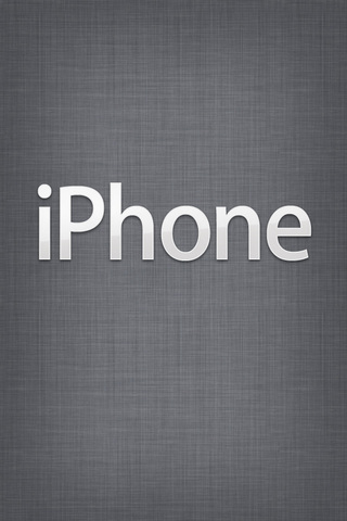 iPhone Gray iPod Touch Wallpaper