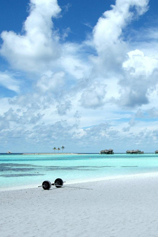 Maldives iPod Touch Wallpaper