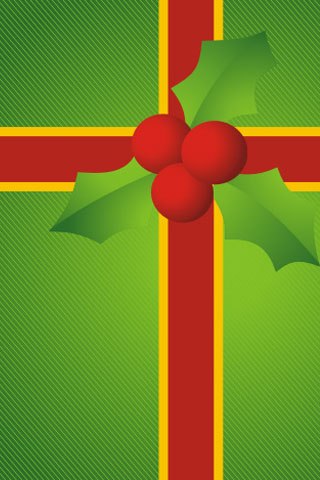 Gift Wrap iPod Touch Wallpaper