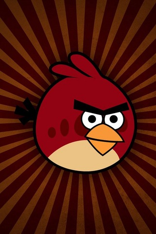 Angry Birds iPod Touch Wallpaper