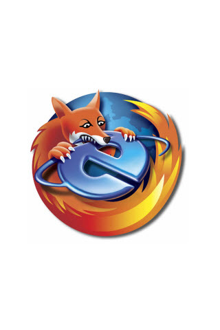 Firefox Owns iPod Touch Wallpaper