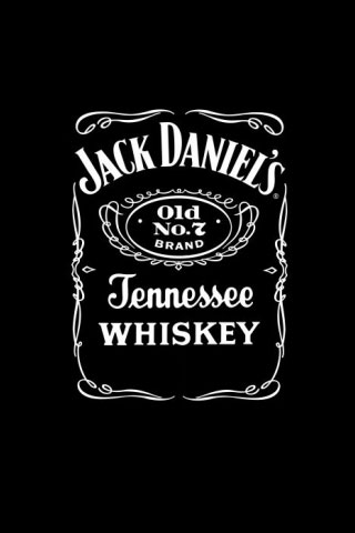 Jack Daniels Logo iPod Touch Wallpaper