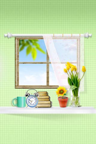 Window iPod Touch Wallpaper