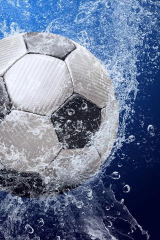 Soccer Ball iPod Touch Wallpaper