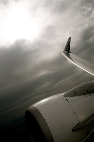 Plane iPod Touch Wallpaper