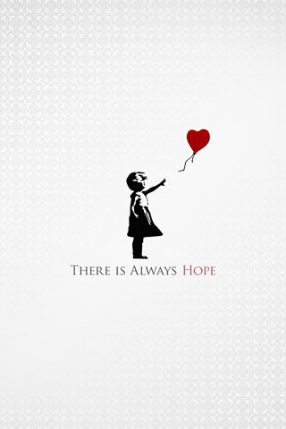 Hope iPod Touch Wallpaper