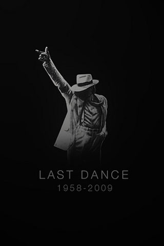 Michael Jackson iPod Touch Wallpaper