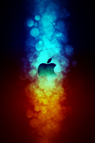 Apple Bokeh iPod Touch Wallpaper