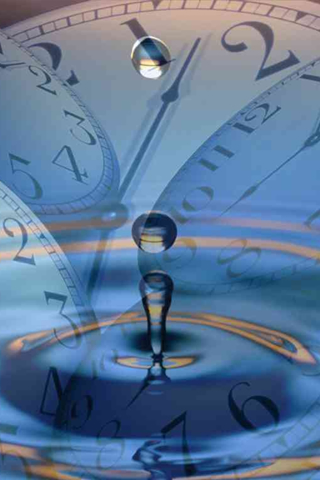 Time on Water iPod Touch Wallpaper