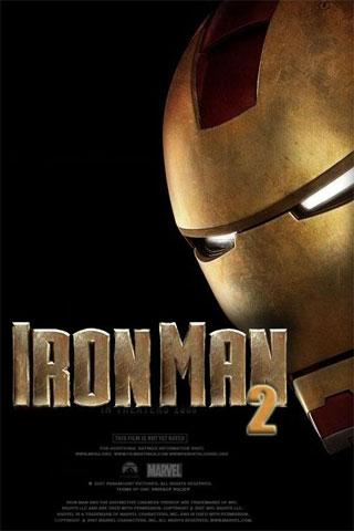 Iron Man 2 iPod Touch Wallpaper