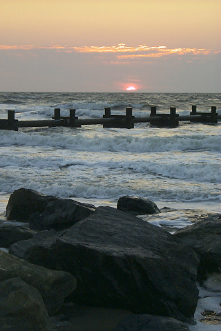 New Jersey Sunrise iPod Touch Wallpaper