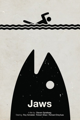 Jaws iPod Touch Wallpaper